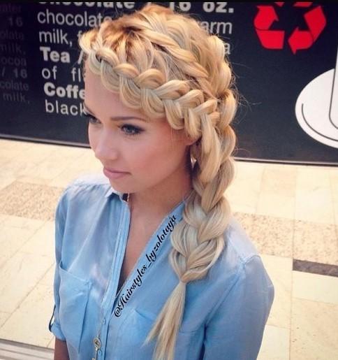 loose braided hairstyles for long hair - Αυτά είναι τα χτενίσματα που θα κάνουμε την Άνοιξη
